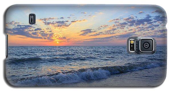 Sunrise Lake Michigan August 10th 2013 004 Galaxy S5 Case by Michael  Bennett