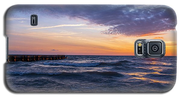 Galaxy S5 Case featuring the photograph Sunrise Lake Michigan August 8th 2013 007 by Michael  Bennett