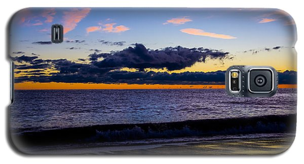 Galaxy S5 Case featuring the photograph Sunrise Lake Michigan September 14th 2013 002 by Michael  Bennett