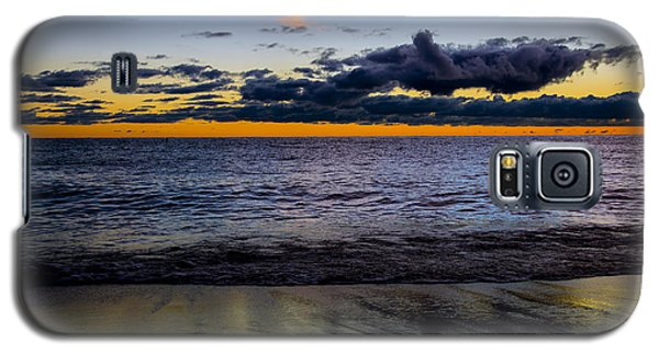 Galaxy S5 Case featuring the photograph Sunrise Lake Michigan September 14th 2013 003 by Michael  Bennett