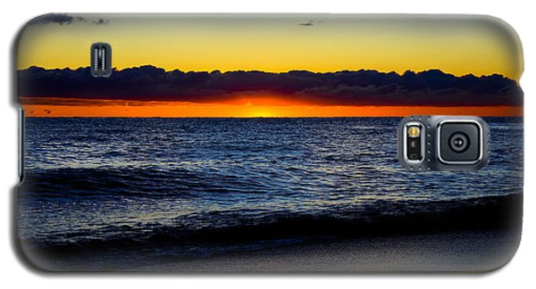 Galaxy S5 Case featuring the photograph Sunrise Lake Michigan September 14th 2013 008 by Michael  Bennett