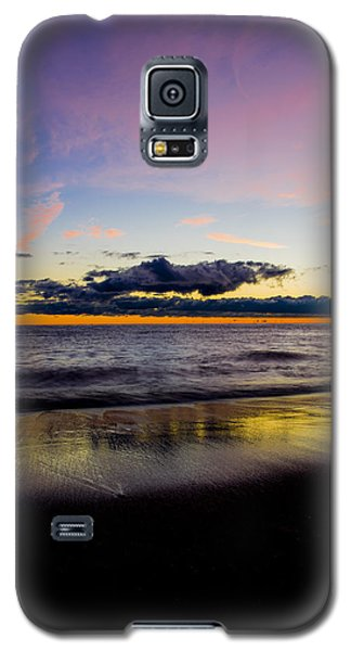 Galaxy S5 Case featuring the photograph Sunrise Lake Michigan September 14th 2013 010 by Michael  Bennett