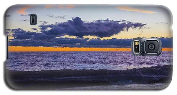 Galaxy S5 Case featuring the photograph Sunrise Lake Michigan September 14th 2013 011 by Michael  Bennett