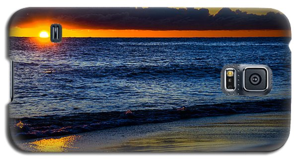 Galaxy S5 Case featuring the photograph Sunrise Lake Michigan September 14th 2013 015 by Michael  Bennett