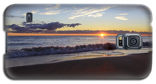 Galaxy S5 Case featuring the photograph Sunrise Lake Michigan September 14th 2013 018 by Michael  Bennett