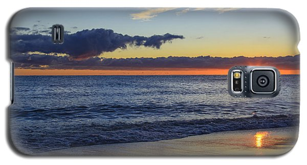 Galaxy S5 Case featuring the photograph Sunrise Lake Michigan September 14th 2013 019 by Michael  Bennett