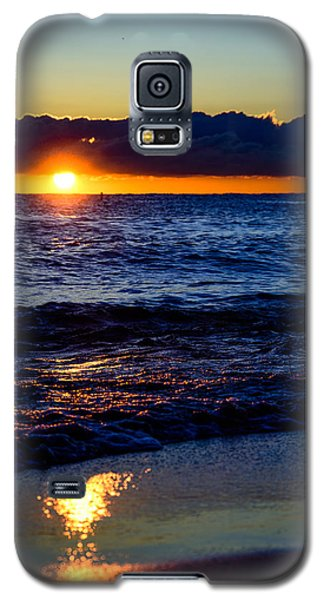 Galaxy S5 Case featuring the photograph Sunrise Lake Michigan September 14th 2013 021 by Michael  Bennett