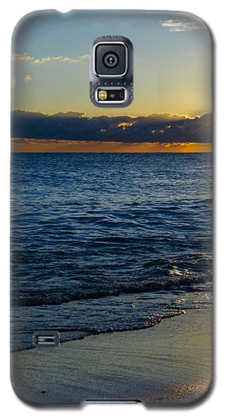 Galaxy S5 Case featuring the photograph Sunrise Lake Michigan September 14th 2013 024 by Michael  Bennett