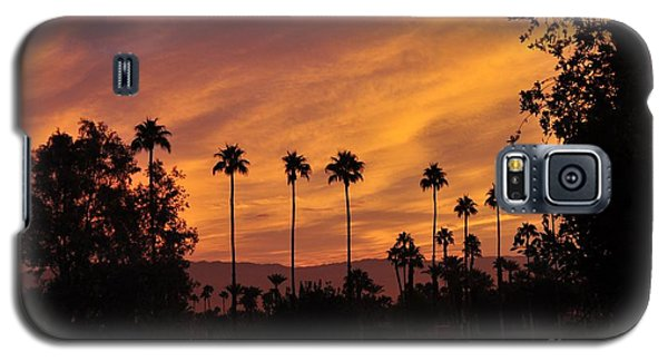 Sunrise Looking East Towards Mecca Galaxy S5 Case by Jay Milo