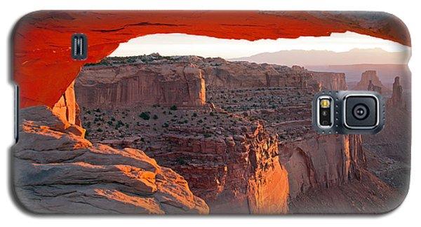 Sunrise Mesa Arch Canyonlands National Park Galaxy S5 Case