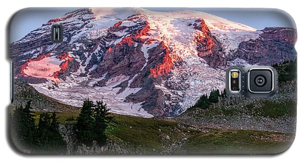 Sunrise Mt Rainier Galaxy S5 Case