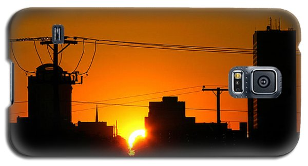 Sunrise -- My Columbia Seen Galaxy S5 Case