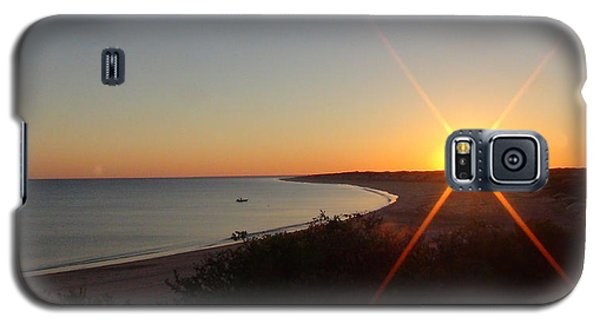 Galaxy S5 Case featuring the photograph Sunrise Near Broome  Australia by Tony Mathews