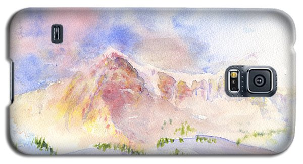 Sunrise On Mount Ogden Galaxy S5 Case
