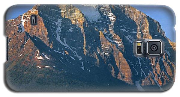 1m3518-sunrise On Mt. Temple Galaxy S5 Case