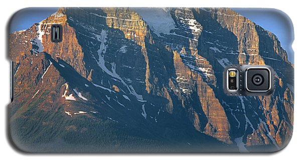 1m3518-sunrise On Mt. Temple Galaxy S5 Case