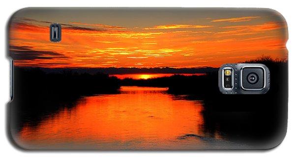 Sunrise On The Assiniboine Galaxy S5 Case
