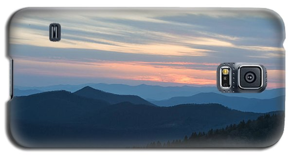 Sunrise On The Blue Ridge Galaxy S5 Case