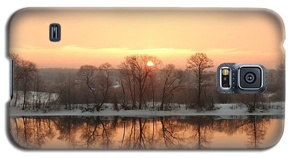 Sunrise On The Ema River Galaxy S5 Case