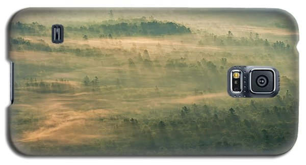 Galaxy S5 Case featuring the photograph Sunrise On The Parkway - Blue Ridge Parkway - Asheville - North Carolina by Photography  By Sai