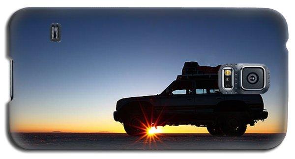 Sunrise On The Salar De Uyuni Galaxy S5 Case