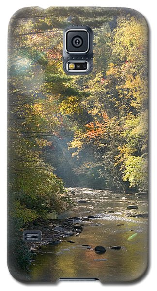 Galaxy S5 Case featuring the photograph Sunrise On The Telico River by Robert Camp