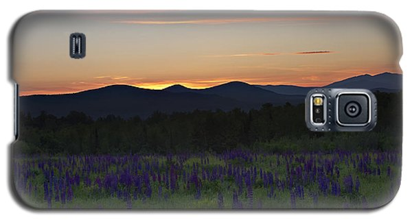 Sunrise Over A Field Of Lupines Galaxy S5 Case
