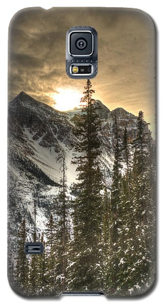 Sunrise Over A Mountain Ridge Galaxy S5 Case