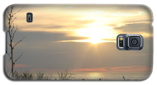 Galaxy S5 Case featuring the photograph Sunrise Over Beach Dune by Robert Banach