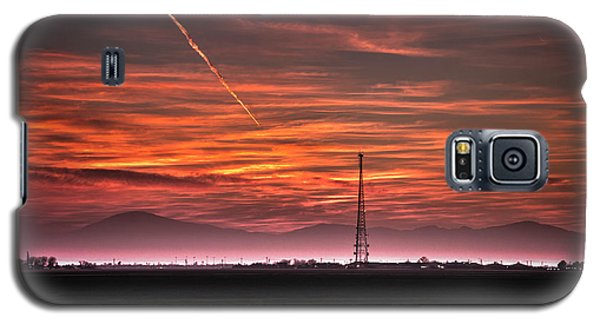 Sunrise Over Bear Mountain Galaxy S5 Case