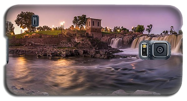 Sunrise Over Falls Park Galaxy S5 Case