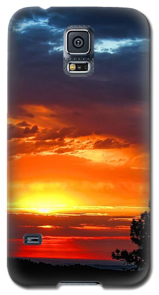 Sunrise Over Keystone Galaxy S5 Case