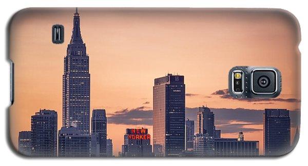Manhattan Sunrise Galaxy S5 Case