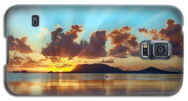 Sunrise Over Marine Corps Base Hawaii Galaxy S5 Case