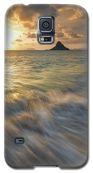 Galaxy S5 Case featuring the photograph Sunrise Over Mokoli'i by Hawaii  Fine Art Photography