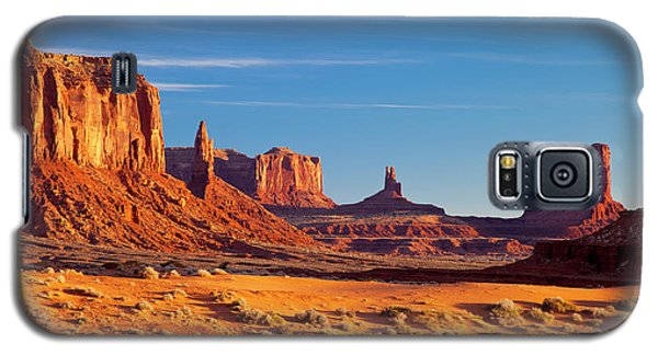Sunrise Over Monument Valley Galaxy S5 Case