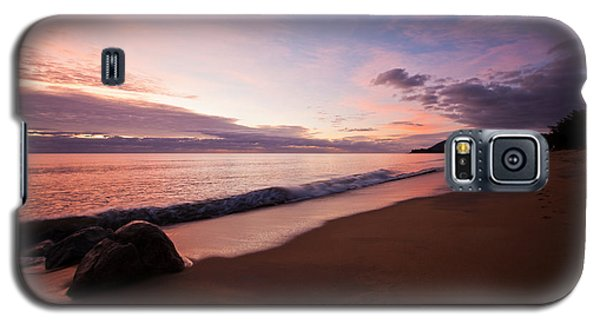 Galaxy S5 Case featuring the photograph Sunrise Over Ocean by Carole Hinding