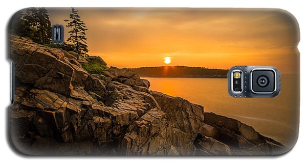 Sunrise Over Otter Cove Galaxy S5 Case