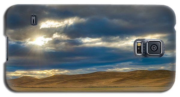 Sunrise Over Palouse Road Galaxy S5 Case