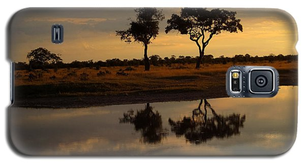 Sunrise Over Savuti Park Galaxy S5 Case