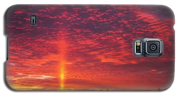 Galaxy S5 Case featuring the photograph Sunrise Over Scandinavia by Trey Foerster