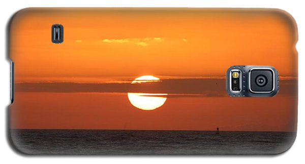 Sunrise Over The Atlantic Galaxy S5 Case by Nance Larson