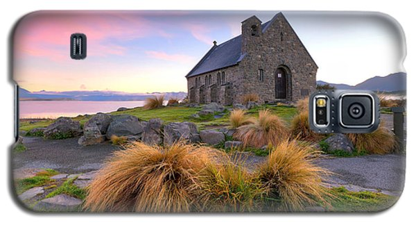 Sunrise Over The Church Of The Good Sheperd Galaxy S5 Case by Bill  Robinson