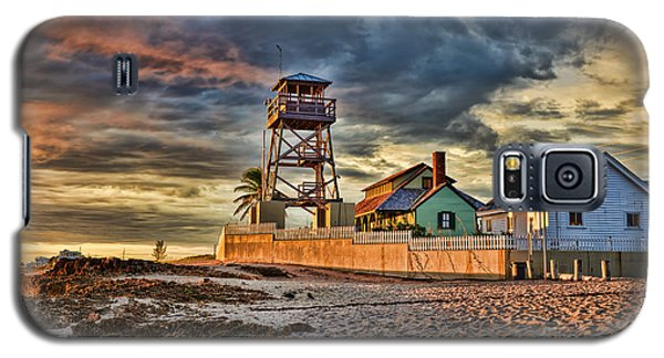 Sunrise Over The House Of Refuge On Hutchinson Island Galaxy S5 Case