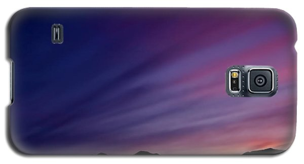 Sunrise Over The Mountains Galaxy S5 Case