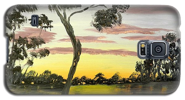 Sunrise Over The Murray River At Lowson South Australia Galaxy S5 Case