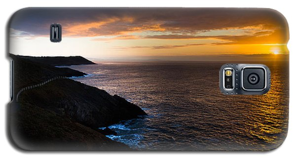 Sunrise Over The Wales Coast Path Galaxy S5 Case