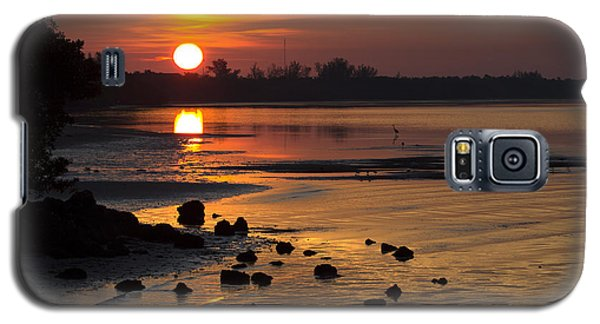 Galaxy S5 Case featuring the photograph Sunrise Photograph by Meg Rousher