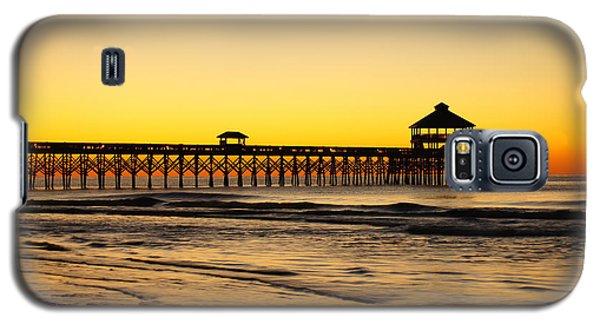 Sunrise Pier Folly Beach Sc Galaxy S5 Case