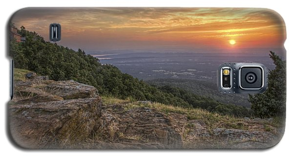Sunrise Point From Mt. Nebo - Arkansas Galaxy S5 Case
